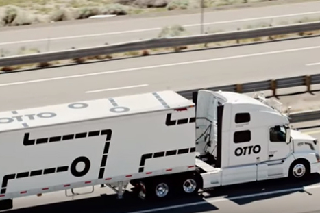 Self-Driving Truck's First Mission: A 120-Mile Beer Run | Public Relations & Social Media Insight | Scoop.it