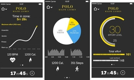 """Ralph Lauren Unveils """"Polo Tech"""" Shirt That Tracks Health and Fitness Data 