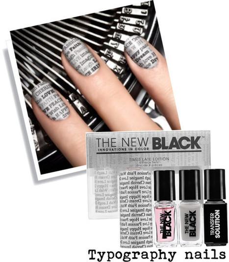 Typography nails | SwiftGraphics | Scoop.it