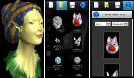 TrueSculpt, moldea esculturas virtuales en tu Android | Pedalogica: educación y TIC | Scoop.it
