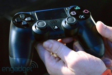 Dualshock 4 and PlayStation Eye shipping weeks ahead of PS4 ... | The New Upcoming Gaming Consoles | Scoop.it