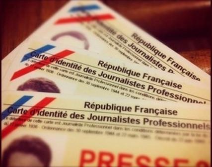Légère baisse du nombre de titulaires de carte de presse en 2015 | DocPresseESJ | Scoop.it