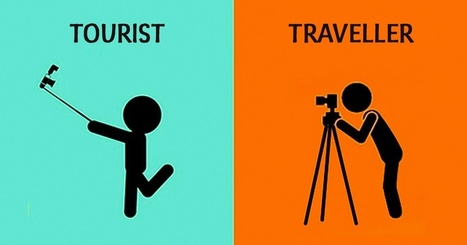 How tourists differ from travellers, in14hugely insightful illustrations | Intercultural Effectiveness | Scoop.it