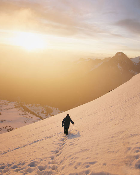 Sunrise in the Alps | ♡ James & Mary ♡ | Scoop.it