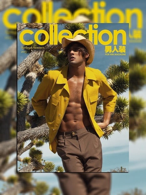 Marlon Teixeira Covers FHM Collection China's Spring/Summer 2013 Issue. | JIMIPARADISE! | Scoop.it