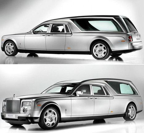 GeeKNewZ.fr » Une Rolls Royce pour la fin de vie ! | Mots clés Salon | Scoop.it