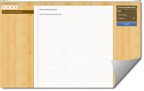 Memo Notepad, para tomar notas en Google Chrome | Recull diari | Scoop.it