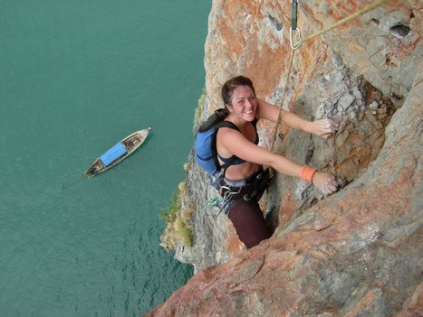 Chance to Enjoy Thrilling Rock Climbing in Thailand - Physic Tourism | rock climbing | Scoop.it