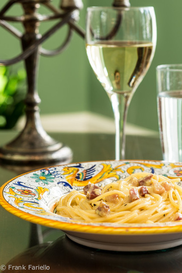 Spaghetti alla carbonara (when you don't trust completely the quality of the eggs) | Le Marche and Food | Scoop.it