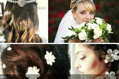 Best hairdos for a white wedding - Times of India | Hair | Scoop.it