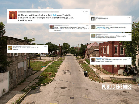 Public Enemies: Social Media Is Fueling Gang Wars in Chicago | Underwire | Wired.com | Journalism 1000 - GSU | Scoop.it