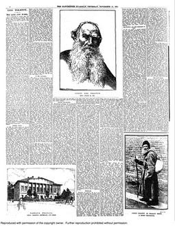 Tolstoy from the pages of the Guardian and Observer | Eye on Literature | Scoop.it