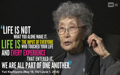 "Yuri Kochiyama ""Embodied the multiracial spirit of racial justice"" 