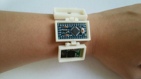 Homemade Activity Monitor | FabLab - DIY - 3D printing- Maker | Scoop.it