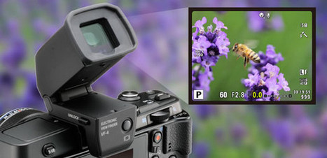 Olympus VF4 electronic viewfinder improves on the OM-D EVF with ... | Olympus PEN E-P5 | Scoop.it