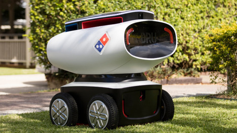 Domino's pizza delivery robot is hot and autonomous | NIC: Network, Information, and Computer | Scoop.it