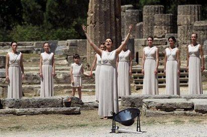 Ξεκινά το μεγάλο ταξίδι της Ολυμπιακής Φλόγας... | Patrisnews | travelling 2 Greece | Scoop.it