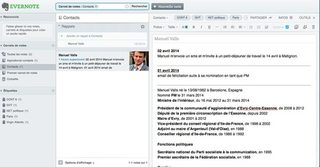 Evernote: outil de gestion de la relation client | Metrosapiens | Evernote | Scoop.it