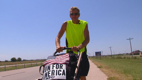 Man Running Across America In Support Of Veterans - News On 6 | Veterans(New Mexico + Legislation) | Scoop.it