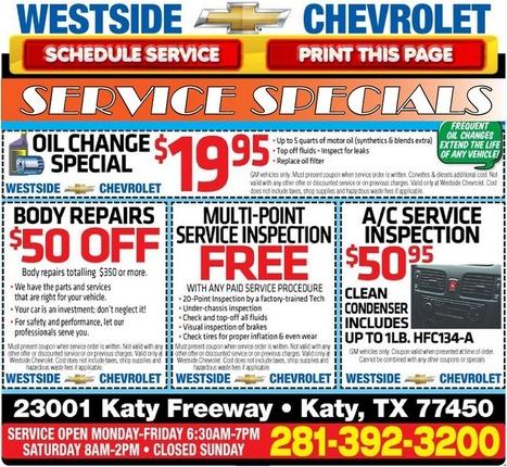Chevrolet Cars & Trucks Service Specials Coupons Deals | Chevy Car Dealer | Scoop.it