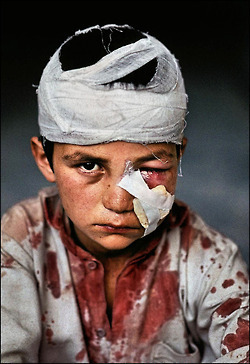 "-""Children of War"".Steve Mccurry 