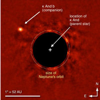 NASA snaps rare direct photo of a Super-Jupiter planet Kappa Andromedae b - SlashGear | Aviation News Feed | Scoop.it