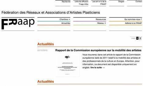 13 novembre 2013 - Réunion d'information FRAAP - Fédération des Réseaux et Associations d'Artistes Plasticiens - Syndicat Potentiel Strasbourg | Syndicat Potentiel | Scoop.it