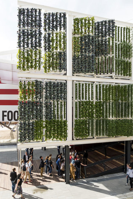 Tour The US PAVILION AT EXPO 2015 in MILANO | Vertical Farm - Food Factory | Scoop.it