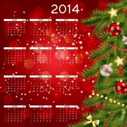 30+ Happy New Year Calender Wallpapers 2014 | mohamed saed hafez | Scoop.it