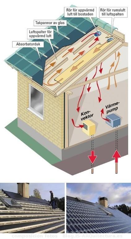 Tejas de vidrio, calefacción solar con diseño innovador | Ecocosas | VIDRIO | Scoop.it