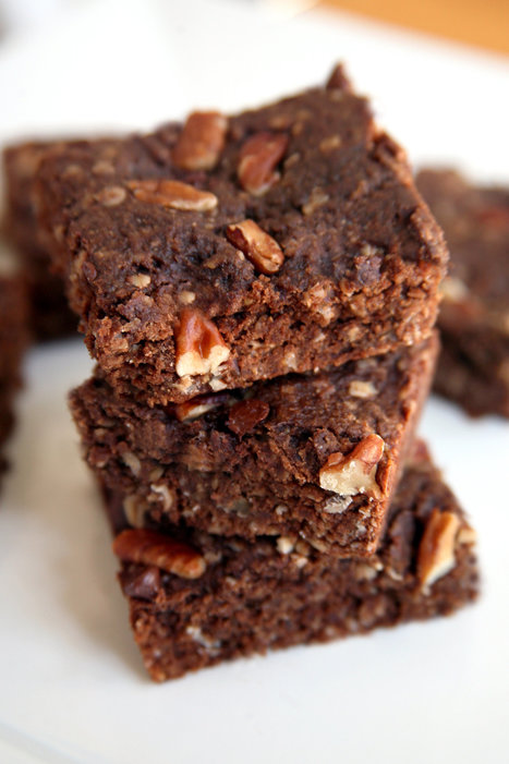 These Low-Calorie Chocolate Brownies Offer a Kick of Protein, Too | My Vegan recipes | Scoop.it