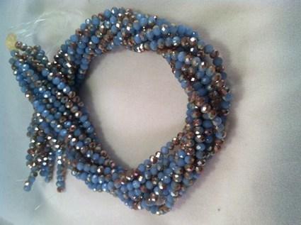 Jewelry Supplies, Rondelle 3mm x 4mm, Glass Crystal, Faceted, | AvendesoraArtJewelry - Jewelry on ArtFire | HandmadeArtJewelry | Scoop.it