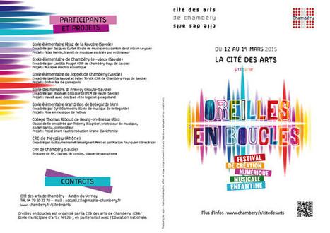 Ville de Chambéry - Festival Oreilles en boucles - Site officiel - Chambery | Revue de presse KOGUMI | Scoop.it