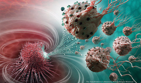 Scientists Have Created Nanorobots That Can Travel Down the Bloodstream and Precisely Target Cancerous Tumors | Futurewaves | Scoop.it