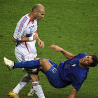 Zinedine Zidane: I Won't Apologise To Marco Materazzi Over World ... | Football (soccer) legends | Scoop.it