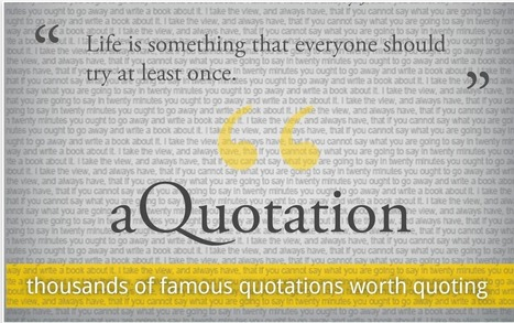 Here Is A Good Resource of Educational Quotes | Technology in Education | Scoop.it