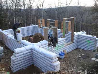 Building an Earthbag House Timelapse | War In The Ukrain | Scoop.it