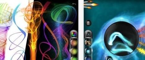 Flame Painter, creando efectos y dibujos originales en iPad | ARTE, ARTISTAS E INNOVACIÓN TECNOLÓGICA | Scoop.it