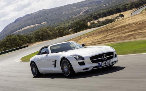 Mercedes' SLS AMG goes topless | Cars | Scoop.it
