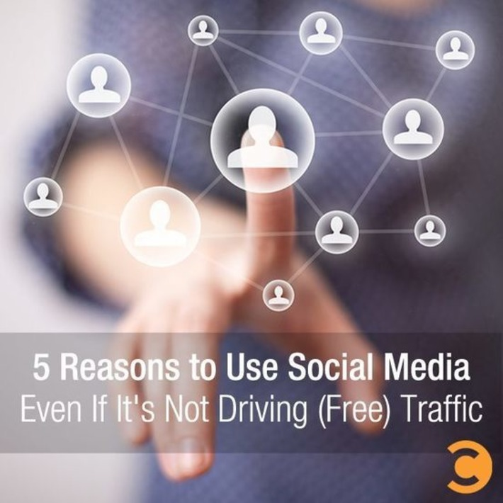 5 Reasons to Use Social Media Even If It's Not Driving (Free) Traffic | A Marketing Mix | Scoop.it