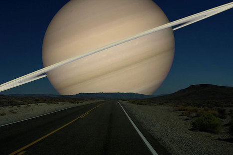 Postales surrealistas: los planetas, como si fueran la Luna | meditation and wel being | Scoop.it
