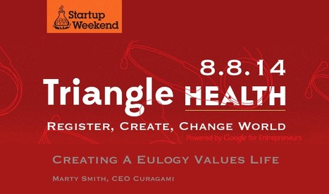Startup Weekend Triangle Health 8.8.14 w/ @Curagami Founder Speaking | Startup Revolution | Scoop.it