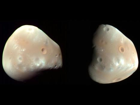 Mars' Moon Deimos | Amazing Science | Scoop.it