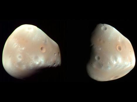 Mars' Moon Deimos | Amazing Science | Scoop.it
