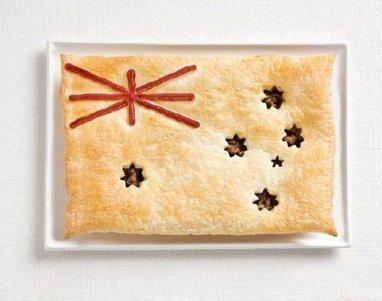 18 banderas suculentas creadas con comida típica de cada país | Inocuidad de alimentos | Scoop.it