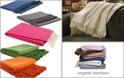 $39 for your choice of organic bamboo or cotton throws from Overstock Wholesale Products | Bamboo based products | Scoop.it