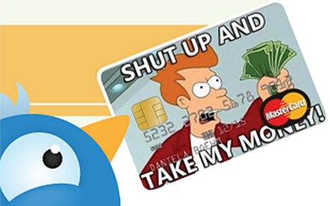 How Credit Card Companies Lure Customers on Social Media [INFOGRAPHIC] | Financial | Scoop.it