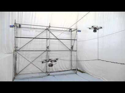 Flying drones autonomously build a 24-foot rope bridge strong enough for humans | Inhabitat - Sustainable Design Innovation, Eco Architecture, Green Building | 21st Century Craft & Pride | Scoop.it