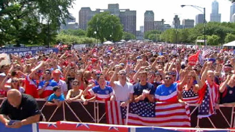 20,000 Gather to Watch U.S.-Portugal World Cup Match   World Cup Video News   Scoop.it