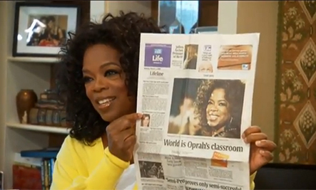 Meet the Lucky Winner of the Care2 Oprah Contest! | Care2 | Scoop.it